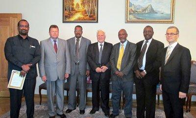 Зустріч з членами делегації Республіки Судан