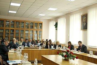 Наукова коференція в інституті держави і права